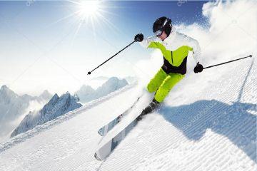 Závodní lyžování