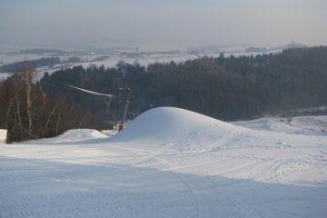 Sněžení - únor 2012
