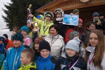 Lyž. závod škol 22.2.2012