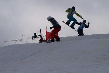 Skicross závody 9. a 10.3.2013