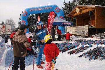 Testování lyží SPORTEN