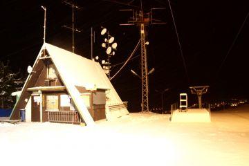 Zasněžování lyžařského areálu