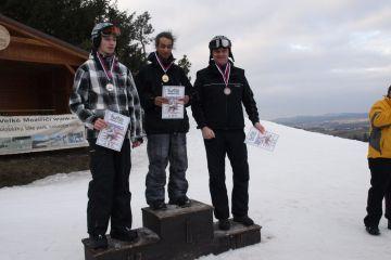 Fajťák snowboard slalom