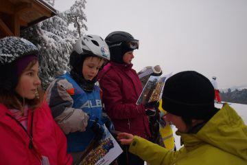 Ukončení lyžařské školy pro děti