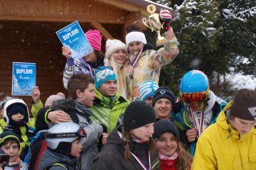 Lyžařský a snowboardový přebor škol kraje Vysočina - 2. závod