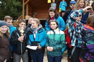 JIHOMORAVSKÝ KRAJ: Lyžařský a snowboardový přebor škol 2014