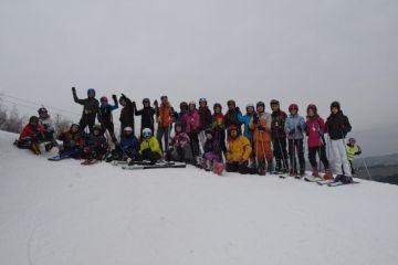 Výuka lyžování škol