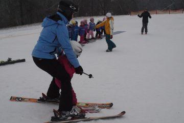 Zahájení lyžařské školy