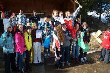 JIHOMORAVSKÝ KRAJ: Lyžařský a snowboardový přebor škol 2015