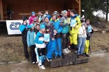 VYSOČINA: Lyžařský a snowboardový přebor škol 2015 - 2. závod