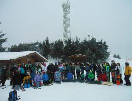 Výuka lyžování a snowboardingu 2017