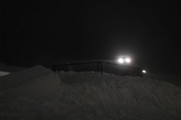 Výstavba snowparku